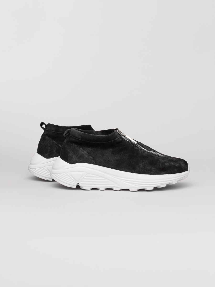 Diemme - Fontesi Low Black Suede - Women, Men Sneakers