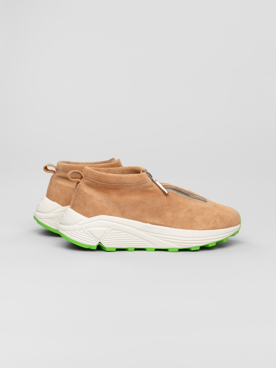 Diemme - Fontesi Low Light Beige Suede - Women, Men Sneakers