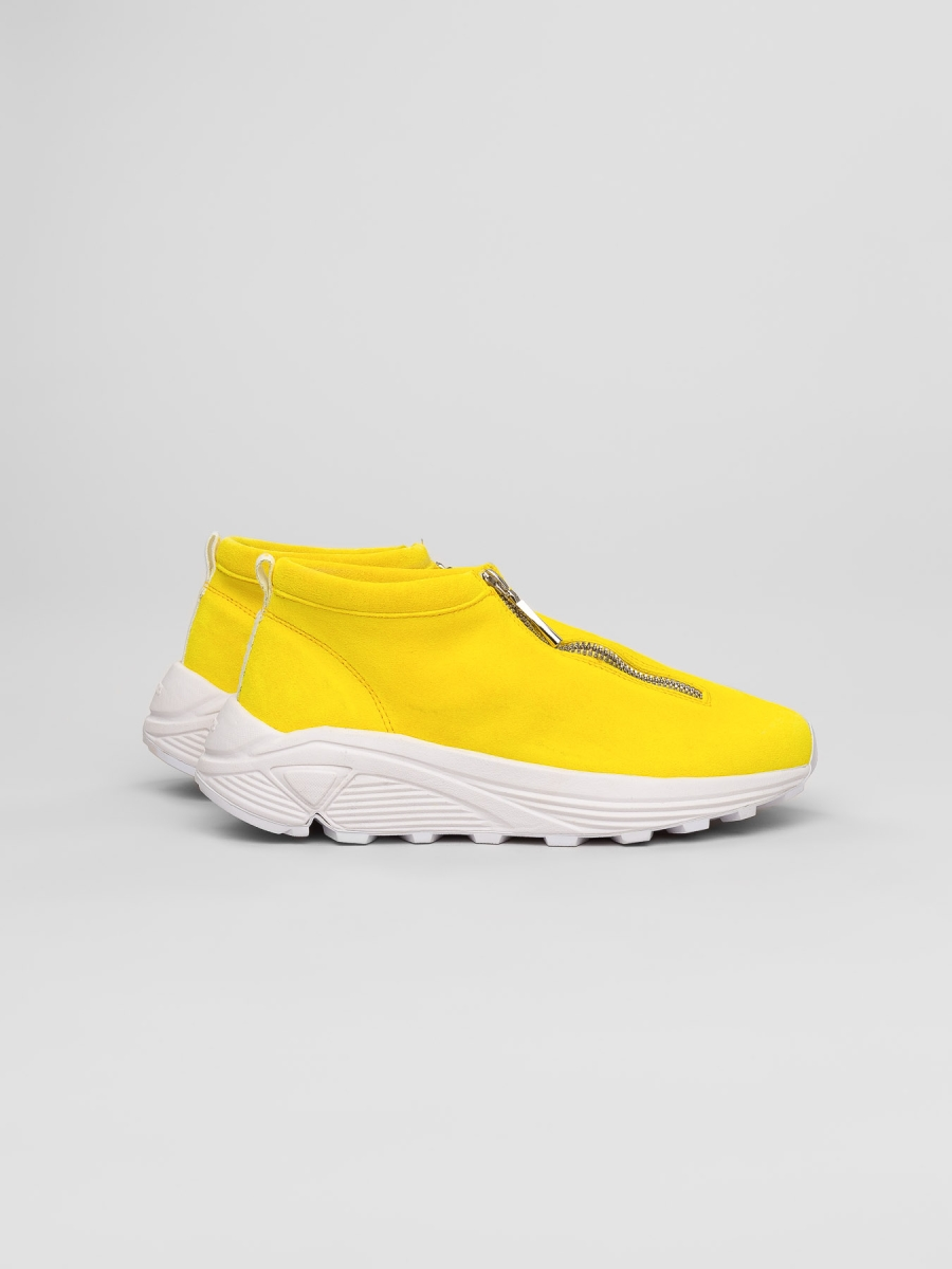 Diemme - Fontesi Low Yellow Suede - Women, Men Sneakers