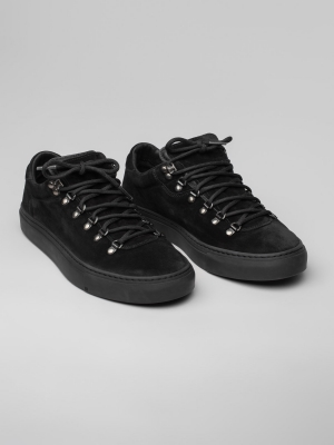 Diemme Marostica Low Black Suede Sneakers