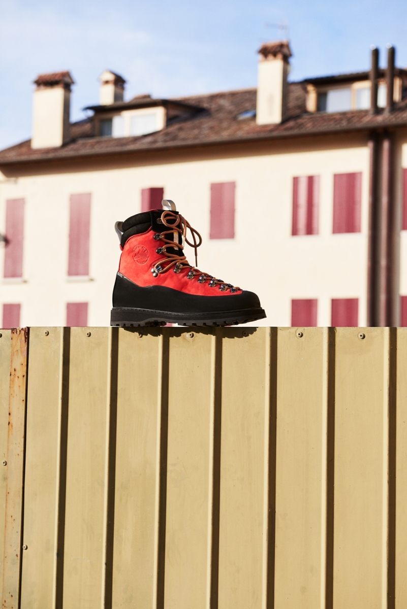 Everest Red boots from Diemme