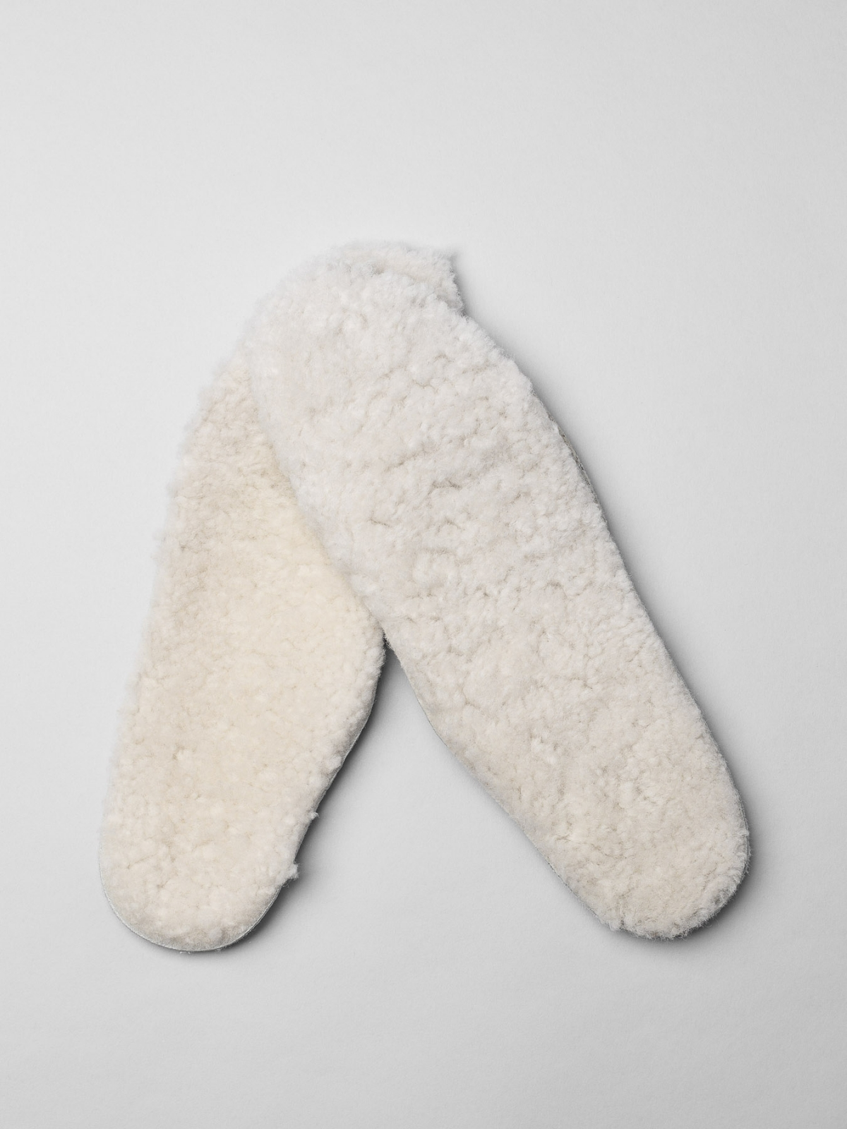 Diemme White Shearling Insoles