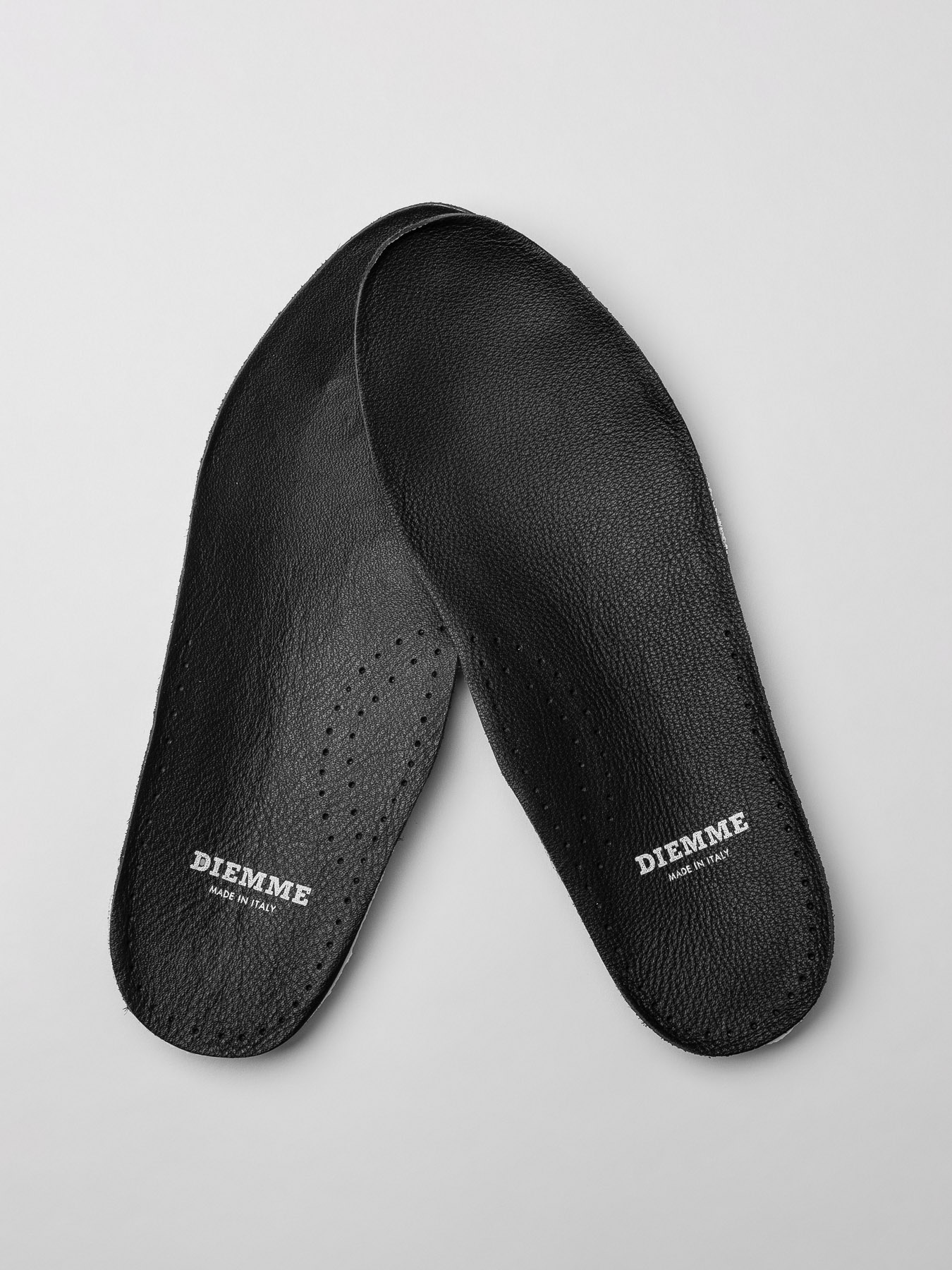 Diemme Black Leather Insoles