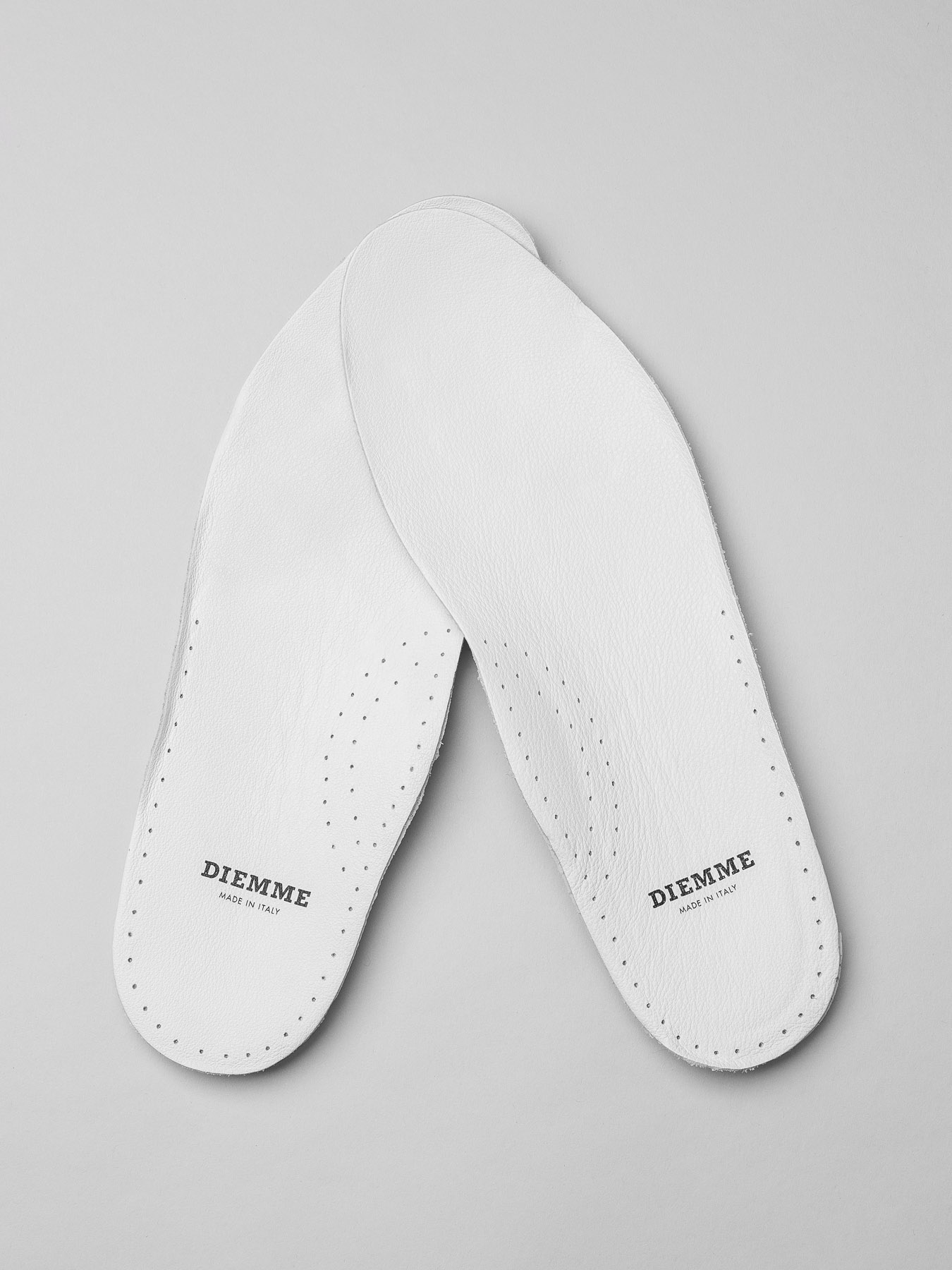 Diemme White Leather Insoles